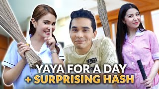 YAYA FOR A DAY + SURPRISING BRO WITH DONNALYN! | IVANA ALAWI