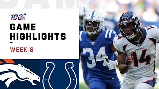 Broncos vs. Colts Week 8 Highlights