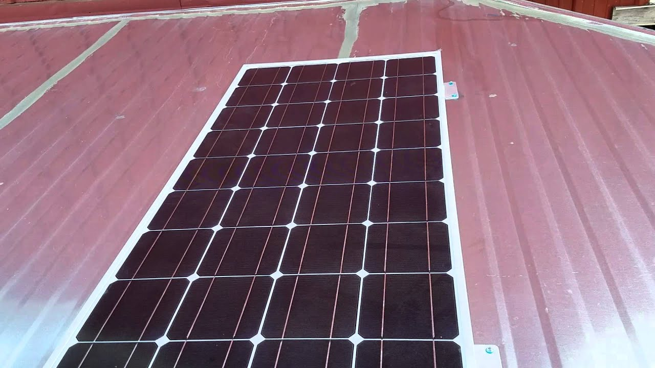 Wiring 12 Volt Solar Panels Library Of Diagram Panel Install With Inverter In An Enclosed Job Site Rh Youtube Com Up Connecting Multiple