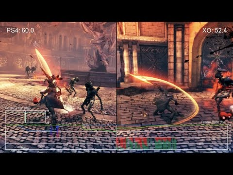 Сравнение качества текстур и частоты FPS игры Devil May Cry Definitive Edition на Xbox One и Playstation 4