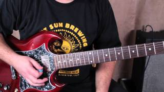 Foo Fighters - Monkey Wrench - how to play the intro on guitar - guitar lessons dave grohl