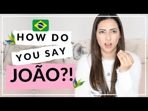 10 MOST COMMON BRAZILIAN BABY NAMES | Pronouncing Brazilian Names | Ysis Lorenna