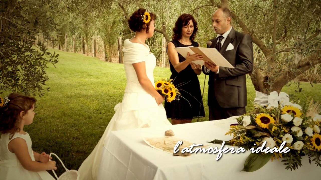 Matrimonio In Italia Con Cittadino Americano : Matrimonio con rito civile in campagna youtube