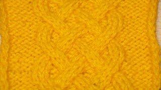 Вязание спицами узора Кельтская коса - Схема 12  /// Knitting pattern Celtic braid - 12 Scheme(Будь в курсе новых видео, подписывайся на мой канал ▻http://www.youtube.com/user/hobby24rukodelie?sub_confirmation=1 Вязание спицами...., 2014-04-21T11:17:40.000Z)