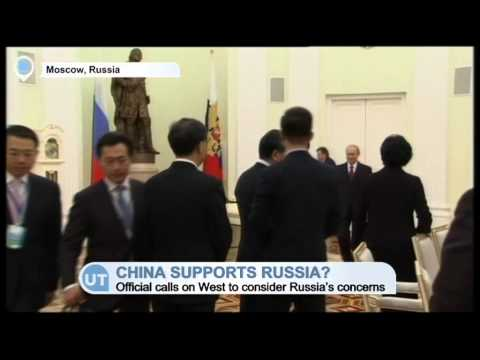 China Supports Russia? China calls on West to consider Russia's concerns over Ukraine crisis