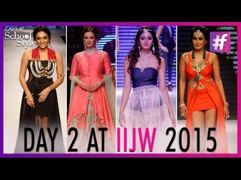 India International Jewellery Week 2015 - Day 2 | #fame School Of Style