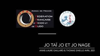 Jo taï Jo & Jo nage par Anne-Laure Gaillard et Thomas Sinelle