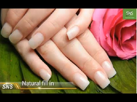 Sns Nails Signature Nail Systems How To Do Refill Natural Set