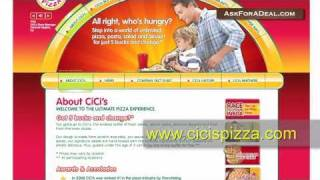 Cici's Pizza Coupons(Learn guitar chords for FREE through our new game Chord Master: http://bit.ly/ChordMasterYT Ask Cici's Pizza for a deal: http://askforadeal.com Ask For a Deal ..., 2011-01-28T02:48:18.000Z)