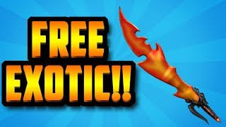 HOW TO GET A FREE DRAGON BREATH EXOTIC!!! (ROBLOX ASSASSIN)