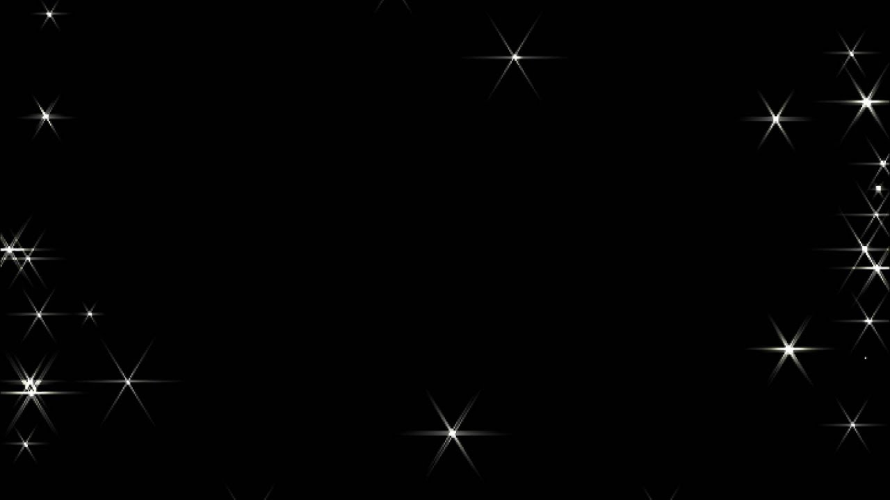 Футаж Звездочки Мерцают По Краям Экрана - Youtube-7279