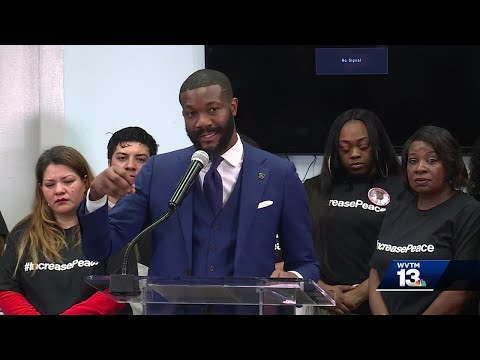 Mayor Woodfin declares gun violence a public health crisis, launches new campaign
