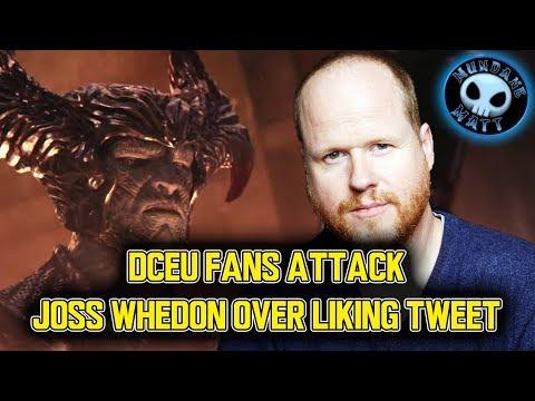DCEU fans attack Joss Whedon over liking tweet