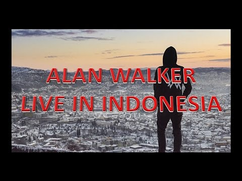 Alan Walker Live In Indonesia - 3 Song Full Concert