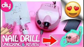 NEW Belle Acrylic Nail Drill Unboxing & Review!!