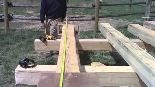 Attaching Dovetail Jig To Log 3