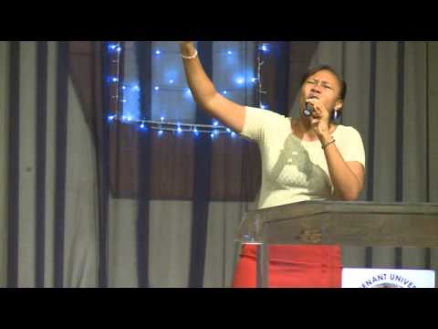 Part 1:W.H.I.T.E with Pastor Victor Oluwadamilare@Covenant University, Nigeria (2013)