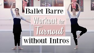 Barre Workout for Turnout Without Intros | Kathryn Morgan