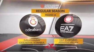 Highlights: Galatasaray Odeabank Istanbul-EA7 Emporio Armani Milan