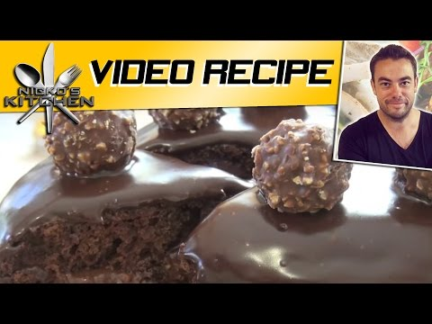 Nutella and Ferrero Chocolate Cake