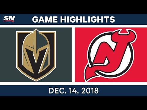 NHL Highlights   Golden Knights vs. Devils - Dec 14, 2018
