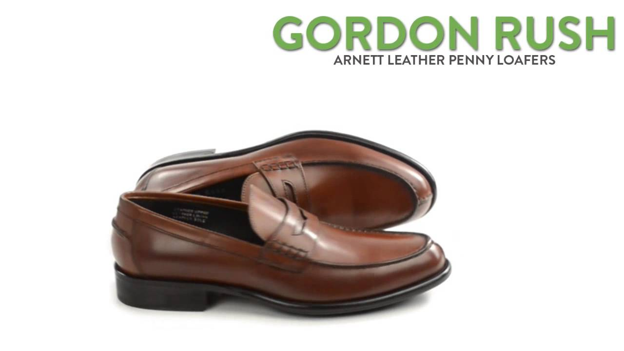 d13863a6f69 Gordon Rush Arnett Penny Loafers - Leather (For Men) - YouTube