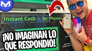 VENDIENDO CLON iPhone X A MAQUINA WALMART