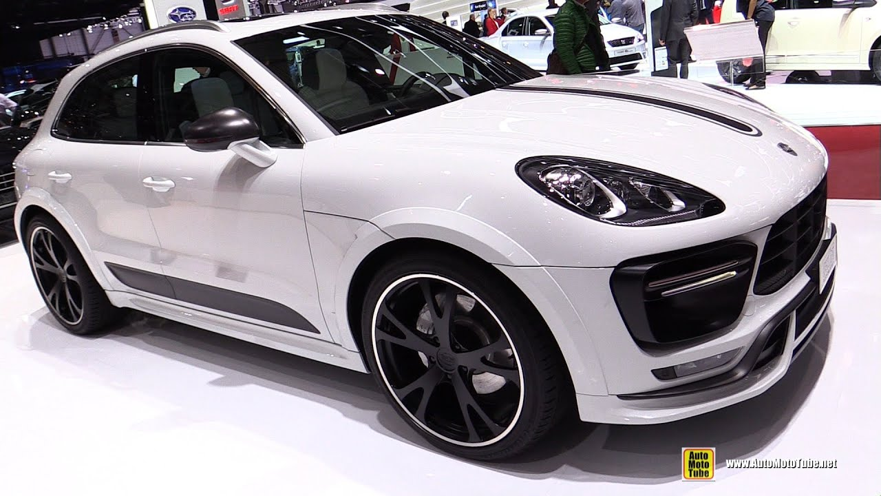 2015 porsche macan turbo techart - exterior and interior