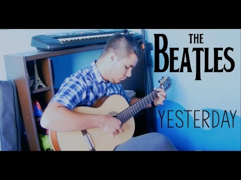 The Beatles - Yesterday [ FREE TABS] (Fingerstyle Guitar Cover By Luis Fascinetto)