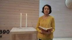 Keskipäivän rukoushetki ti 21.4. Tiina Järvinen