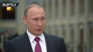 'Unique people': Putin recalls KGB times, wishes deep-cover agents prosperity (ENG SUBTITLES) thumbnail