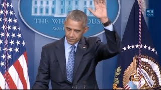 Obamas Parting Words: Were Going To Be OK, But We Need To Fight