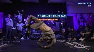 Pokaz sędziów - Jessy, Law, Karam  Absolute Rain Jam 2018