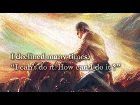 """The life course of Rev. Sun Myung Moon  """"Encounter with Jesus"""""""