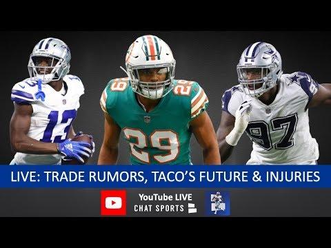 Minkah Fitzpatrick Trade Rumors & Dallas' Offer, Michael Gallup Injury, Taco Charlton Future + Q&A