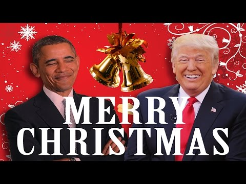Barack Obama Wishes Donald Trump a MERRY...
