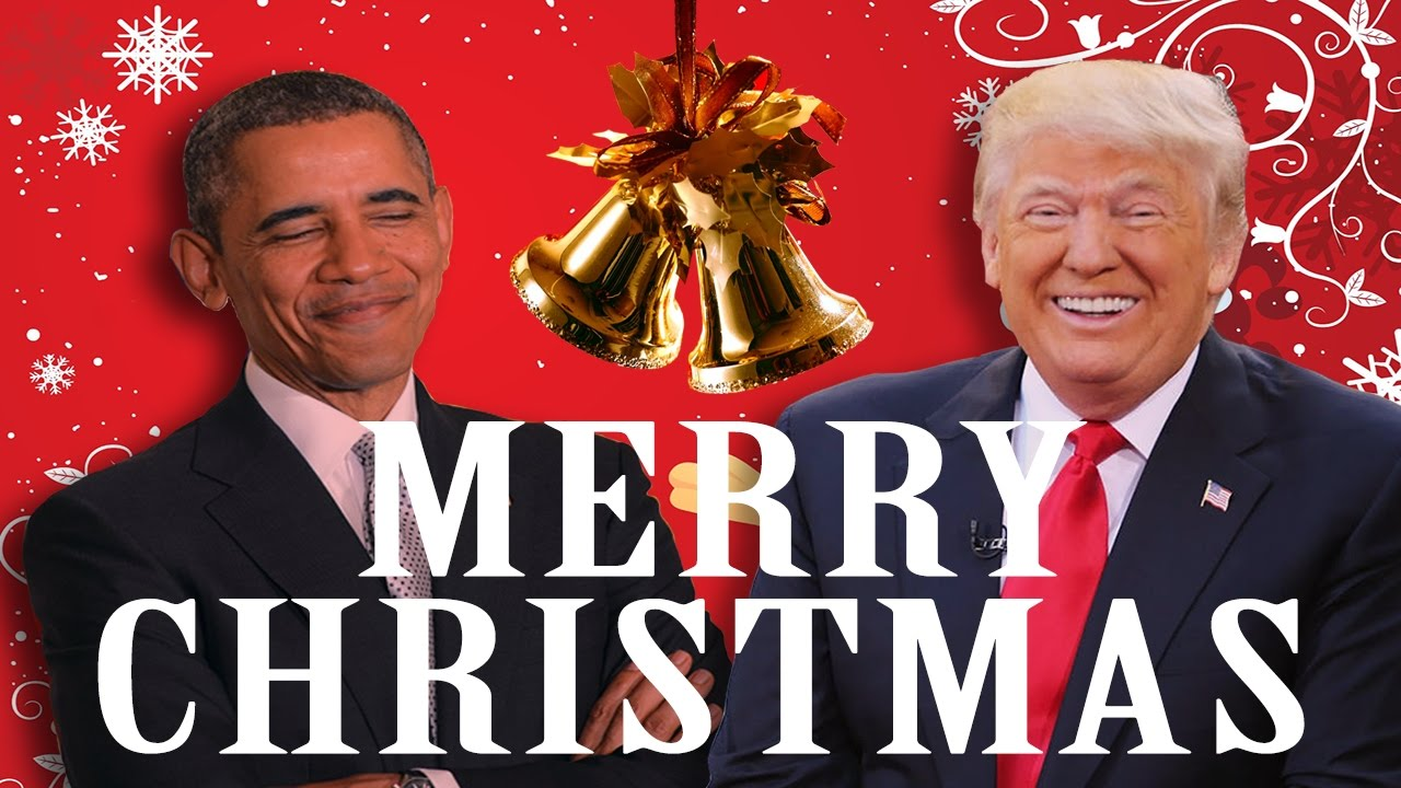 Barack Obama Wishes Donald Trump a MERRY CHRISTMAS (Star Wars Style ...