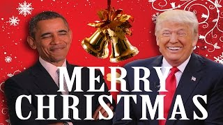 Barack Obama Wishes Donald Trump a MERRY CHRISTMAS (Star Wars Style)