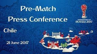 GER vs. CHI Chile Pre Match Press Conference