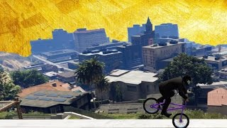 GTA V - BMX Stunts - Birds Are Away