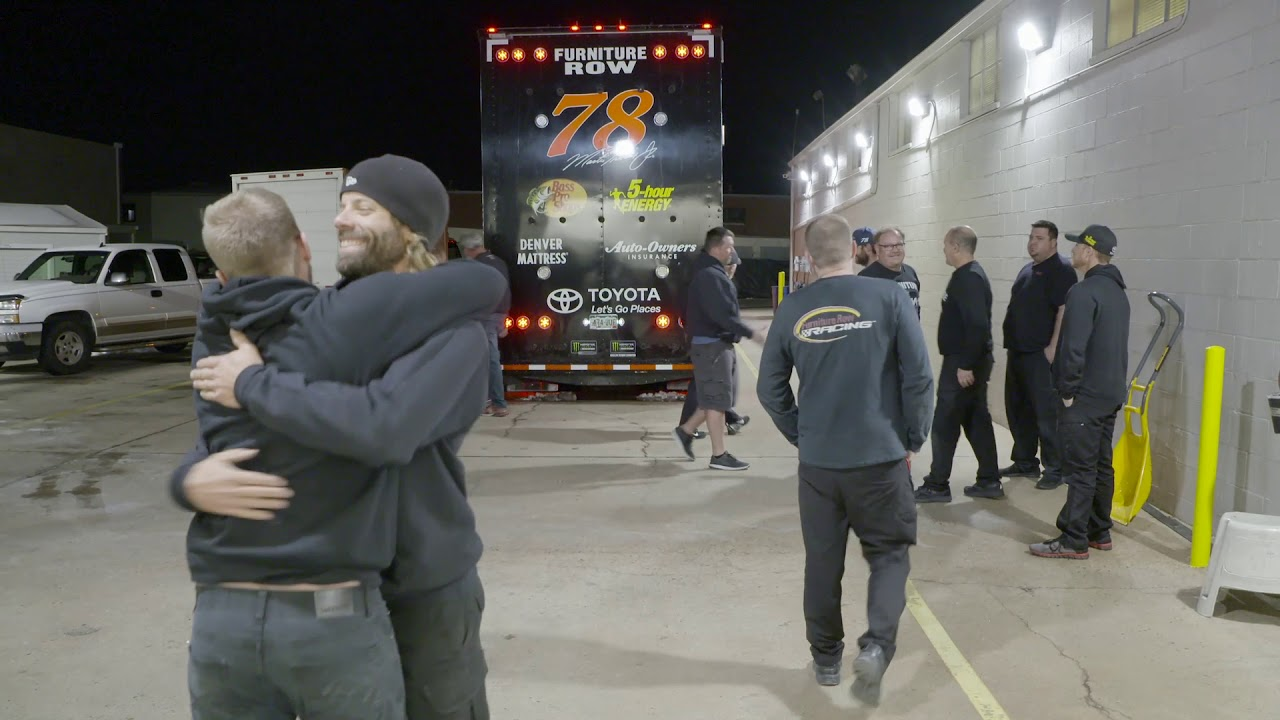 Furniture Row Racing No 78 Hauler Leaves Denver For Homestead Miami