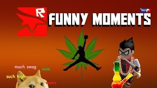 [ROBLOX] Mirror's Edge Funny & Epic Moments - Jump Fail, Euphoria, Snoop Doge
