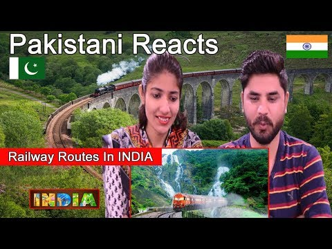 Pakistani Reacts To | TOP 10 Most Beautiful Railway Routes In INDIA | Indian Trains
