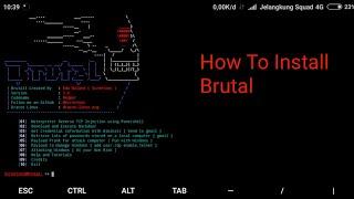 Cara Install Tool Brutal Di Termux No Root 2018