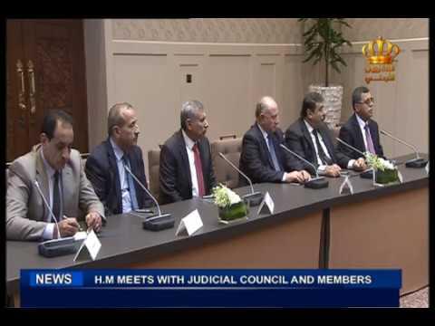 English News at Ten on Jordan Television 28-05-2017