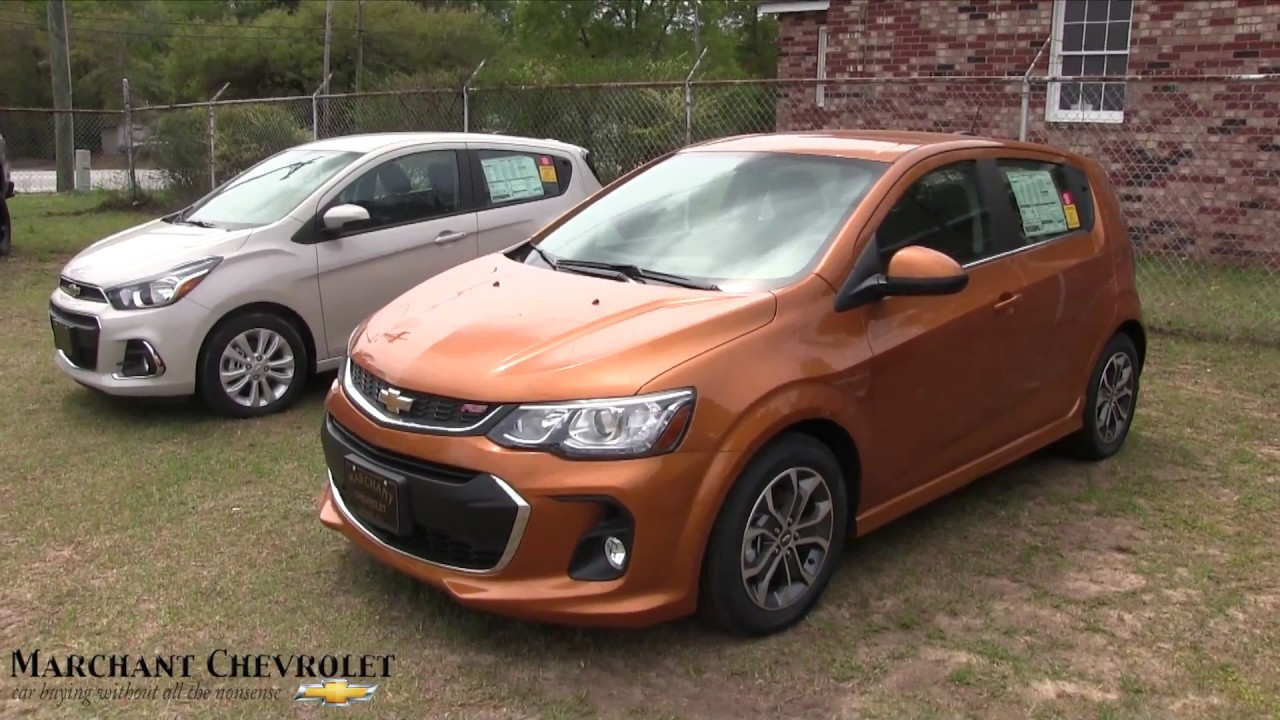 2017 Chevrolet Sonic Lt Rs Walkaround Review And Specs Color At Marchant Chevy