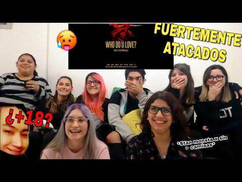 Monsta X - WHO DO U LOVE? Ft. French Montana [MV REACTION] By Putifandom Spanish (¿+18?)
