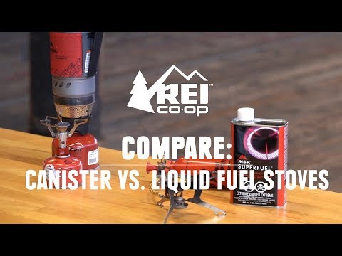 Compare: Canister vs  Liquid Fuel Stoves || REI - YouTube