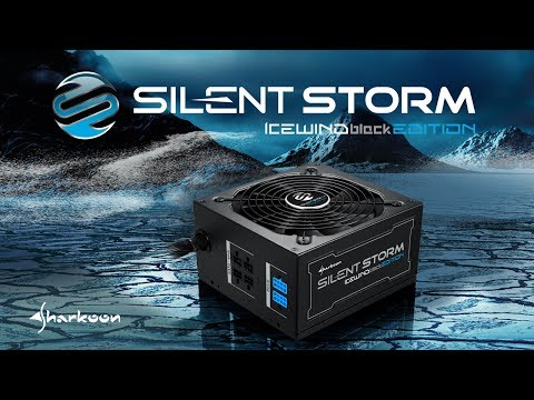 Sharkoon SilentStorm Icewind Black [it]
