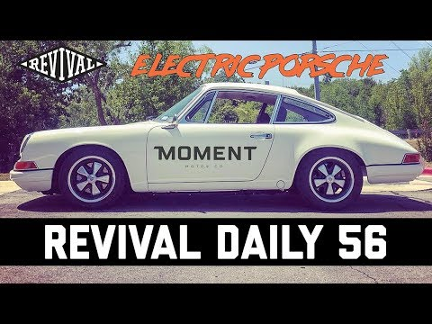 All ELECTRIC Porsche 911 // Revival Daily 56